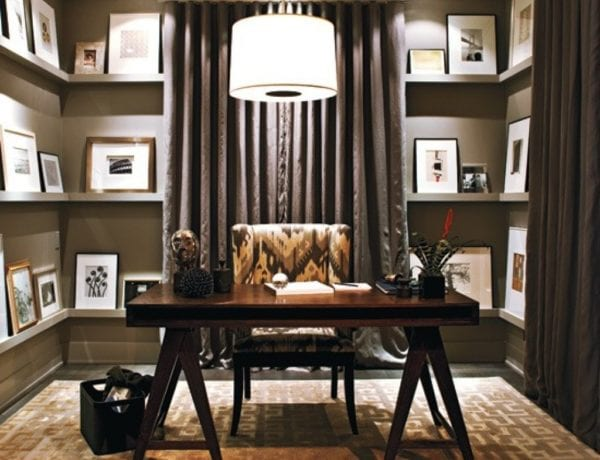 Cool Home Office Designs  Goodly 70 Gorgeous Home Office Design Inspirations Digsdigs Best Designs - Home Decorating Ideas