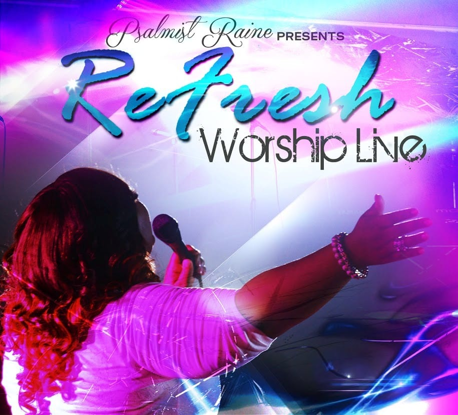 RaineRefreshWorshipCDCover